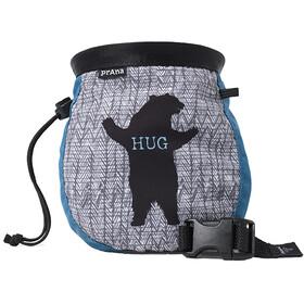 Prana Graphic Chalk Bag, blauw/grijs